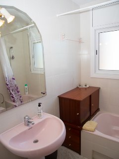 Bathroom in the upstairs suite