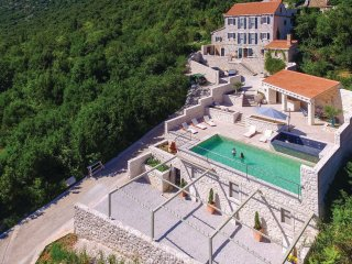 Enchanting Villa Veli Vrh with Pool, BBQ & amazing View