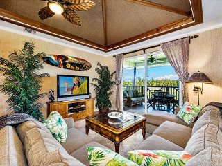 WAIKOLOA BEACH VILLAS J32- LUXURY UPGRADED PENTHOUSE! FREE WIFI