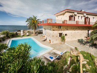 Pericles beach villa !!Beach Front Villa ,Private pool,Crete!!!