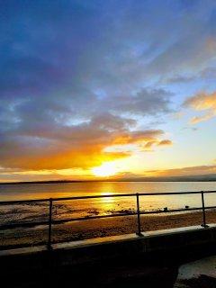 Sunrise on our beach