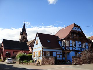 Tres charmante maison de caractere sur la route des Vins en Alsace