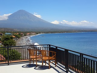 Amed Beach Villa...... Beachfront Villa With Pool.
