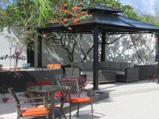 Gazebo shaded sitting area