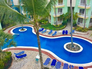 2 Floors 2 BR Penthouse within 5 minutes walk to the beach!