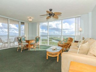 Stunning Views of Lovers Key & Estero Bay, Freshly Updated, Luxury Condo, No Res