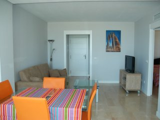 Apartment for 4 people in urbanization El Palmar with pool.