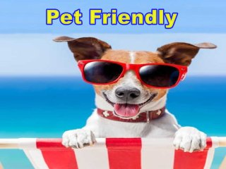 We're proud to be a Pet friendly home