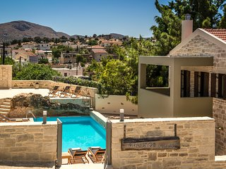 Phaistos Villas. Traditional, tranquil, with uninterrupted views and pool.