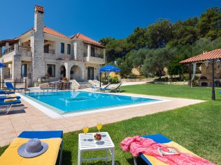 Ermis Seaview Villa With Gym and Game Room, Polemarchi Chania