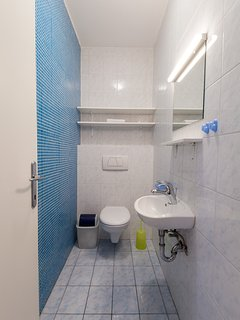 APARTMENT MARTIN - Second bathroom - toilet and basin with mirror only