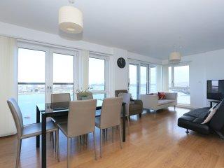 Modern 3 bedroom apartment, near O2, Excel.