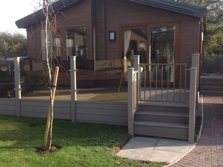 Holiday Lodge on a select gated community at Runswick Bay