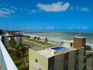 Flat Mar Belo Plaza - Praia de Intermares