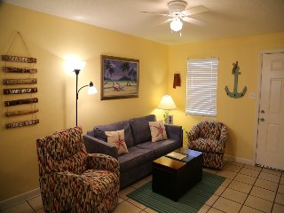 Bright and Beachy, Great Location, Only steps to the sand!  Sunrise Village 212