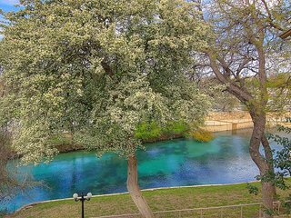 Fabulous 2 bedroom 2 bath on the Comal River!