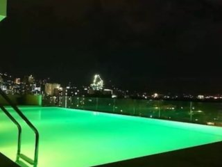 ROOFTOP INFINITY POOL,NEAR MALL/ IT PARK