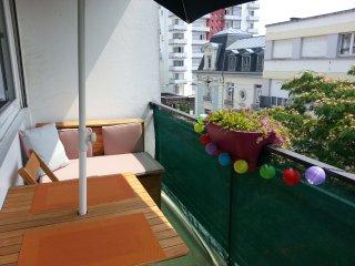 Hyper centre T3 cosy et lumineux avec balcon