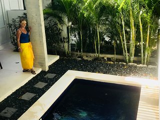Private plunge pool, alfresco dining, sublime decor, rooftop terrace, internet