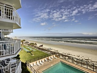 NEW! Oceanfront 2BR Daytona Beach Condo w/ Views!