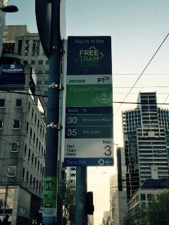 Just hop onto any tram for free if you're going to any other venues in the CBD.