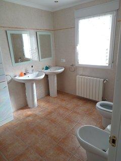 Two comfortable bathrooms