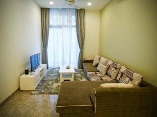 2 bedroom apartment at Kuala Lumpur 500m to Jalan Bukit Bintang 10
