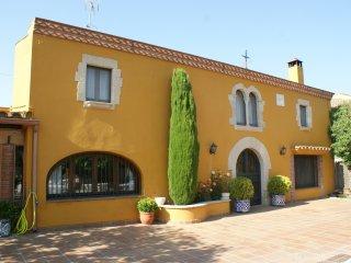 Typical Catalan farmhouse