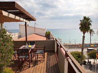 Duplex with views to the sea -la-Placa