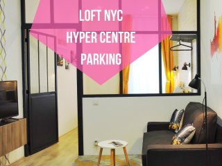 Loft NYC, 3*, Hyper Centre, Parking