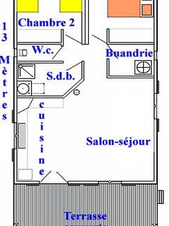 Plan du chalet