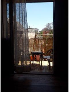 le balcon, vu de la chambre