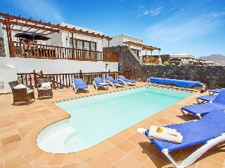 4 bedroom Villa in Playa Blanca, Canary Islands, Spain : ref 5489274