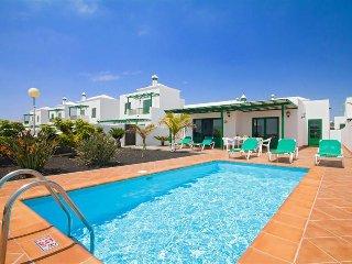 3 bedroom Villa in Playa Blanca, Canary Islands, Spain : ref 5343736