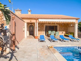 3 bedroom Villa in Portocolom, Balearic Islands, Spain : ref 5334570