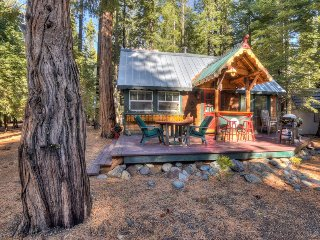 Woodhaven, Charming Tahoma Cabin