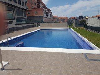 Apartamento en Pleno Centro de Portonovo a 100 metros de la Playa de Canelinas.
