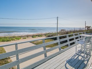 6552S - Oceanfront 4 Bedroom with Wrap Around Deck