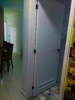 Hall de entrada do imóvel.