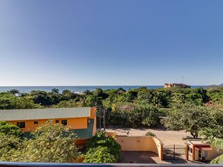 Seaside oceanview condo with shared pool and expansive private deck