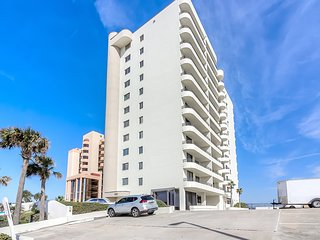 Family oriented two bedroom condo on quiet end of the beach