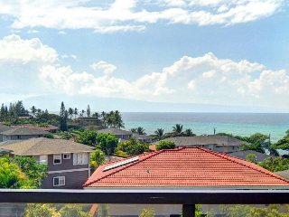 Waterfront condo with ocean views, beach access, resort pool, & hot tub