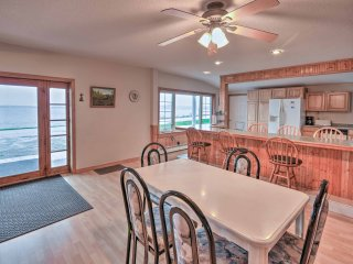 NEW! 5BR Waterfront Long Lake House w/Deck & Views