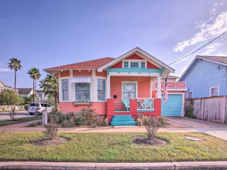 NEW! 2BR Galveston House 2 Blocks to Pleasure Pier
