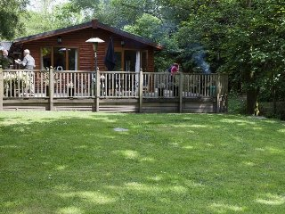 FOOTPRINTS LODGE, hottub, WiFi, parking, Windermere, Ref 972496