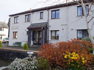 CHAUCER LODGE, ground floor apartment, modern, WiFi, in the centre of Keswick