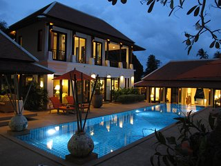 Villa Pura Samui - Big Pool & Gym for Family & Friends