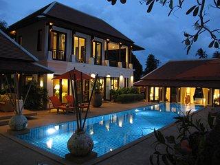 Villa Pura Samui - Big Pool & Gym for Family & Friends