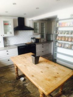 the pear tree Pensione kitchen