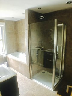 The Pear Tree Pensione spa bathroom